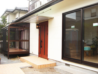 戸建フルリフォーム 外観・内装ともに洋風の住宅へフルリフォーム