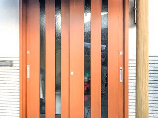 エクステリアリフォーム 優れた防犯・断熱性能で安心の玄関ドア