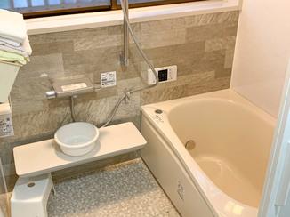 バスルームリフォーム 浴室を中心に使いやすい空間に変えた水廻り